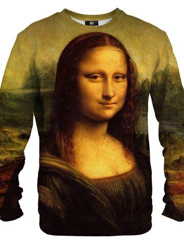 Zľava Mikina bez kapucne Mona Lisa