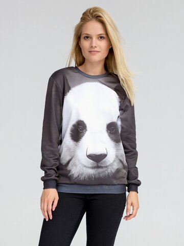 Výpredaj Mikina bez kapucne Panda