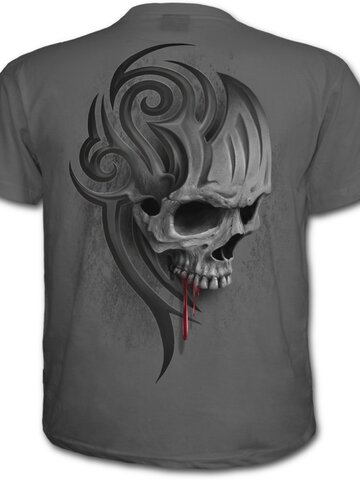 Obrázok produktu Sivé tričko Výkrik smrti