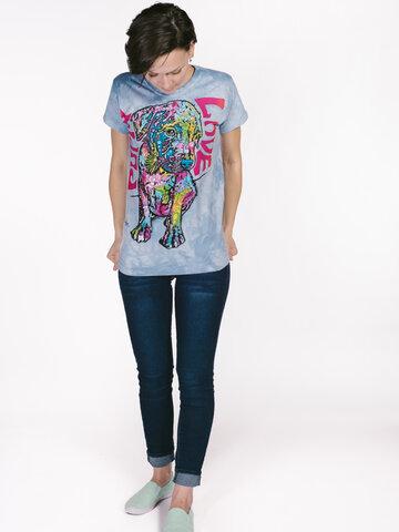 Geschenktipp Damen T-Shirt Russo Welpe