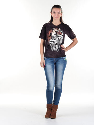 Obrázok produktu Tričko Jing Jang tigre - detské