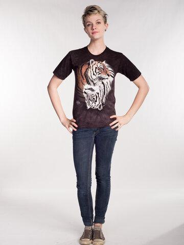 Pre dokonalý a originálny outfit Tričko Jing Jang tigre - detské