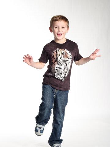 Zľava Tričko Jing Jang tigre - detské