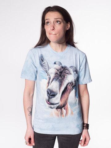Pre dokonalý a originálny outfit Tričko Tvár kozy - detské