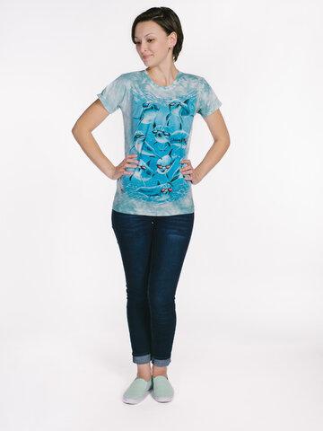 Obrázok produktu Dámske tričko Cool delfíny