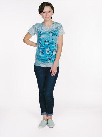 Potešte sa týmto kúskom Dedoles Dámske tričko Cool delfíny