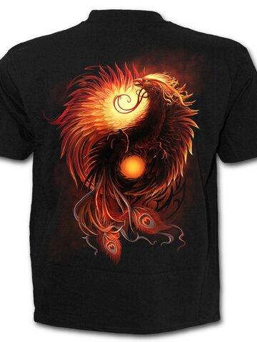Pre dokonalý a originálny outfit T-Shirt with Short Sleeve Phoenix