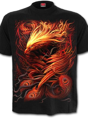 Zdjęcie lifestyle T-Shirt with Short Sleeve Phoenix