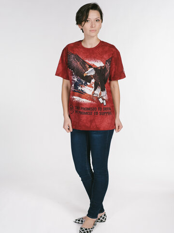 Foto T-shirt War Eagle