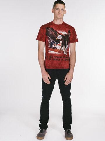 Pre dokonalý a originálny outfit T-shirt War Eagle