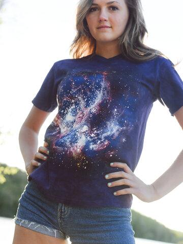 pro dokonalý a originální outfit Tričko Hvězdy ve vesmíru