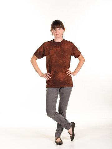 Pre dokonalý a originálny outfit Hnedé tričko