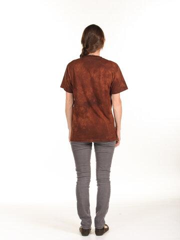 Výnimočný darček od Dedoles Hnedé tričko