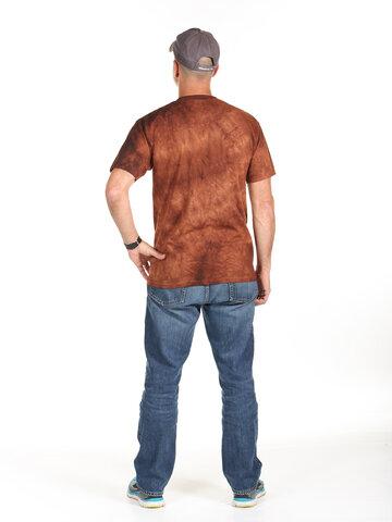 Výpredaj Hnedé tričko