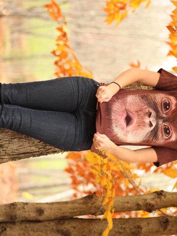 Pre dokonalý a originálny outfit Big Face Baby Orangutan Adult