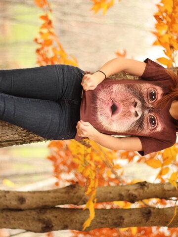 Hľadáte originálny a nezvyčajný darček? Obdarovaného zaručene prekvapí Big Face Baby Orangutan Adult