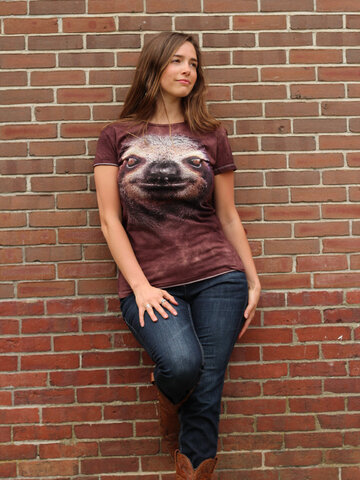 Wyprzedaż Sloth Face Adult