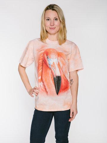 Pre dokonalý a originálny outfit Big Face Flamingo