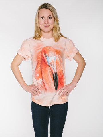 Wyprzedaż Big Face Flamingo