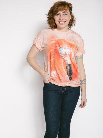 Pomysły na prezenty Big Face Flamingo