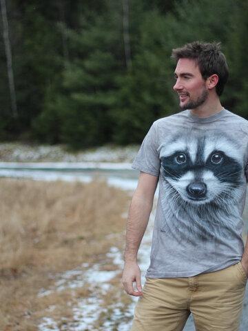 Tip na darček Tričko Tvár medvedík čistotný