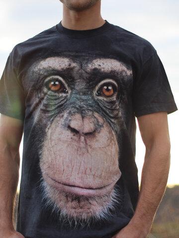 Zľava Tričko Tvár Opice