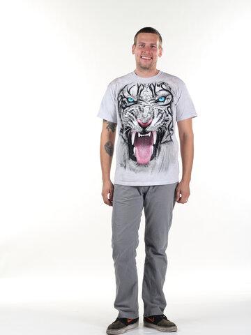 Zľava Tričko Tvár tigra bieleho