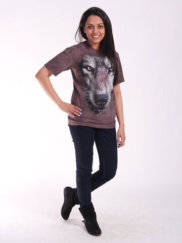 Potešte sa týmto kúskom Dedoles T-shirt Wolf's Face