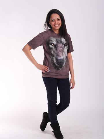 ZNIŻKA T-shirt Wolf's Face