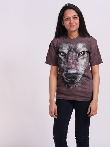 Zdjęcie lifestyle T-shirt Wolf's Face