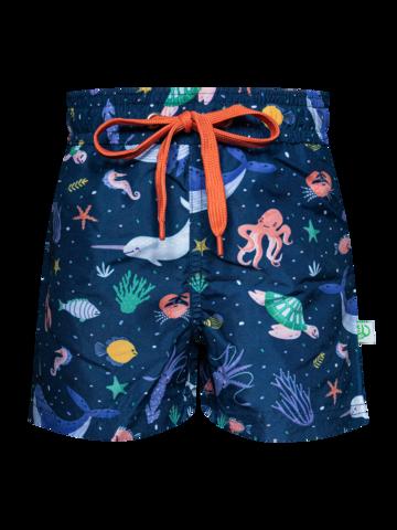Potešte sa týmto kúskom Dedoles Veselé chlapčenské plavkové šortky V ponorke