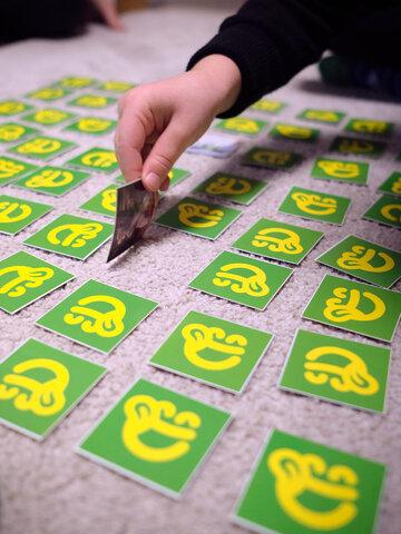 Lifestyle-Foto Lustiges Memory-Spiel Dedoles-Hamster