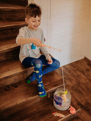 Výpredaj Detské veselé pančušky Akvárium
