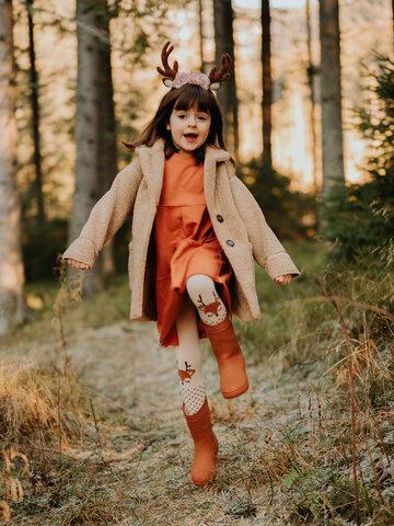 Obrázok produktu Весел детски чорапогащник Елен