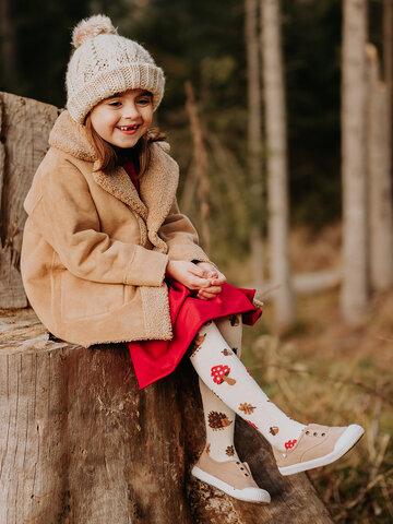 Potešte sa týmto kúskom Dedoles Veselé detské pančušky Lesný ježko