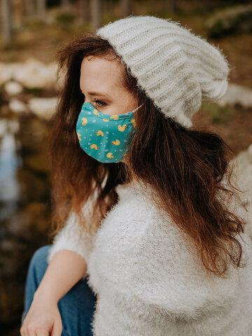 """Rabatt Lustige antibakterielle Gesichtsmaske Enten - Größe """"Klein"""""""