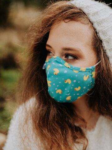 """Bereiten Sie sich Freude mit diesem Dedoles-Stück Lustige antibakterielle Gesichtsmaske Enten - Größe """"Klein"""""""