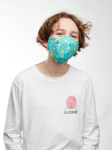 """Geschenk von Dedoles Lustige antibakterielle Gesichtsmaske Enten - Größe """"Klein"""""""