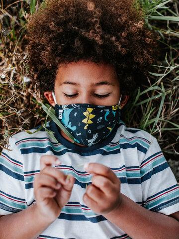 Lichidare de stoc Mască Facială Veselă pentru Copii Dinozauri