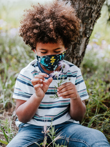 pentru outfit-ul perfect Mască Facială Veselă pentru Copii Dinozauri