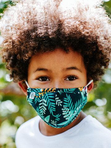 Foto Lustige Gesichtsmaske für Kinder Tiger