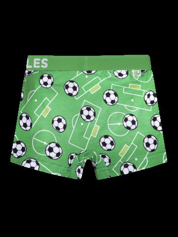 für ein vollkommenes und originelles Outfit Lustige Boxershorts für Jungen Fußball