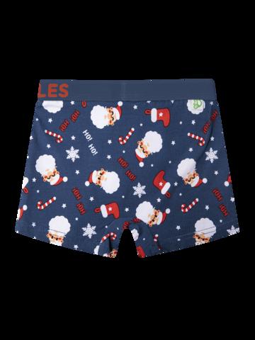 Bereiten Sie sich Freude mit diesem Dedoles-Stück Lustige Boxershorts für Jungen Weihnachtsmann