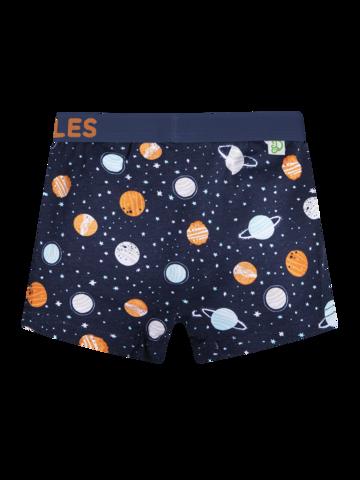 Hľadáte originálny a nezvyčajný darček? Obdarovaného zaručene prekvapí Vrolijke boxers voor jongens Universum