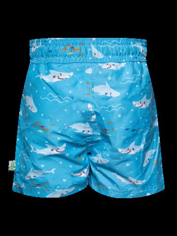 Výnimočný darček od Dedoles Živahne fantovske plavalne hlače Beli morski pes