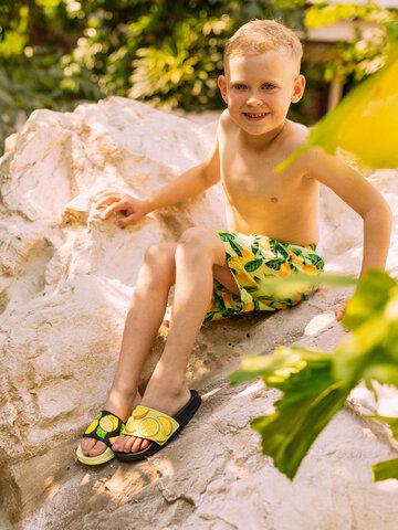 Výpredaj Vesele kupaće hlače za dječake Limuni