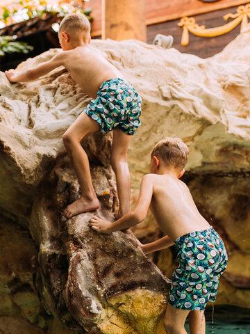 pentru outfit-ul perfect Șort de Baie Vesele pentru Băieți Nucă de Cocos