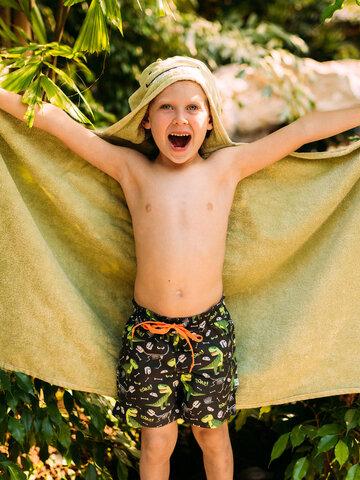 Potešte sa týmto kúskom Dedoles Boys' Swim Shorts Tyrannosaurus Rex