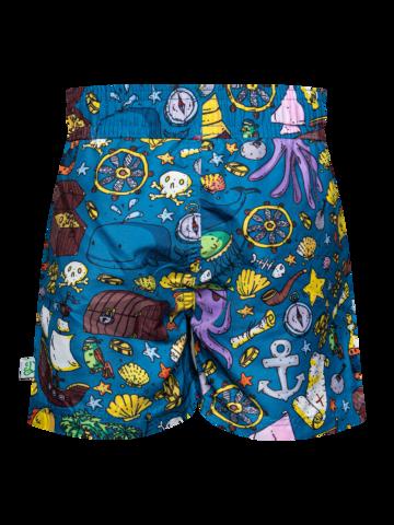 Potešte sa týmto kúskom Dedoles Veselé chlapčenské plavkové šortky Život piráta