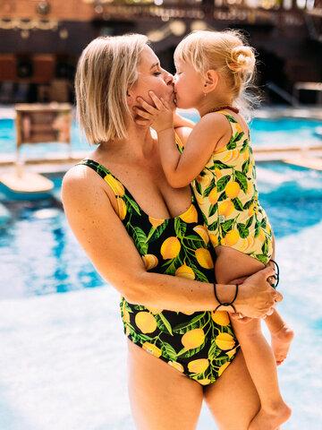 Gift idea Girls' Swimsuit Lemons
